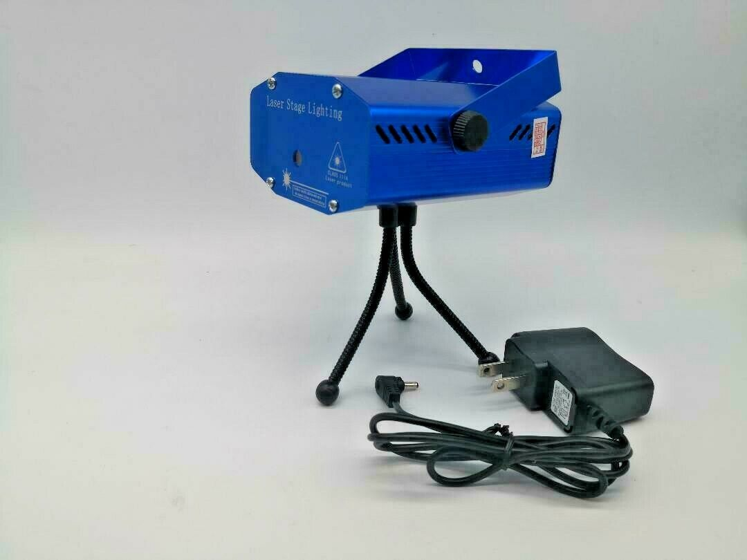 Mini Laser Projector Stage Lights R&G Lighting DJ Disco Party Club KTV Xmas US