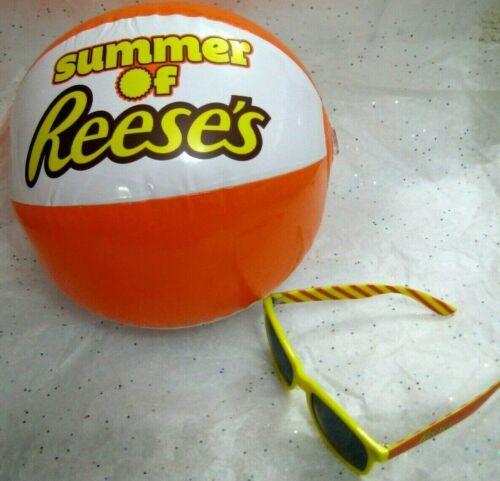 Reese/'s Promo Sunglasses and Beach Ball
