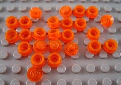 Orange Lot of 25 Lego 1x1 Round Plates