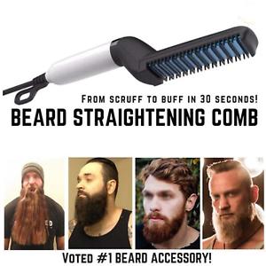 BeardBuddy-Beard-Straightening-Electric-Beard-Hair-Comb-Men-Curling-Brush-Styler