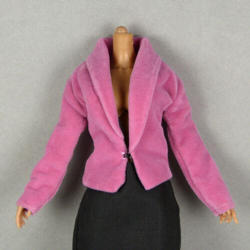 Vogue TTL Female Petite Pink Velvet Jacket ZC 1//6 Scale Cy Girl Kumik