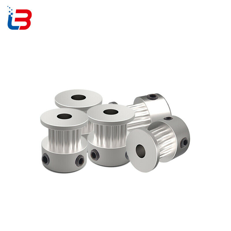 5 Pcs GT2 16 Teeth 6mm Bore Timing Pulley Aluminum Synchronous Wheel