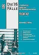 Die 76 wichtigsten Fälle BGB AT von Achim Wüst und Karl E. Hemmer (2016, Kunsts…