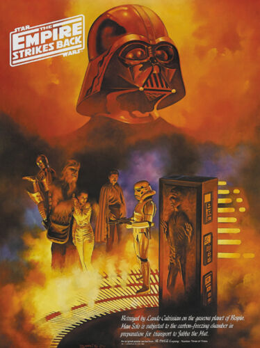 Star wars The empire strikes back #3 movie poster print