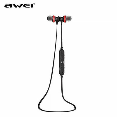 AWEI A980BL Wireless Bluetooth 4.0 Magnetic Sports Noise Isolation In Ear