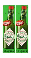 Tabasco Brand Green Jalapeno Pepper Sauce Pack Of 2 Free Shipping