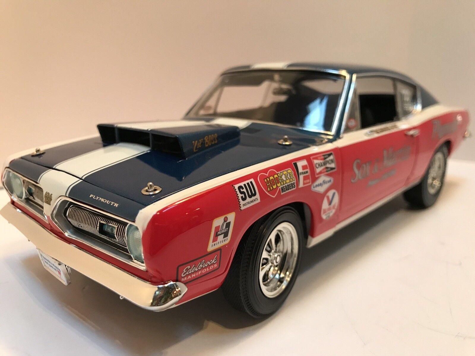 1   18 skala 1968 barracuda sox & martin supersportwagen collectibles 1,18