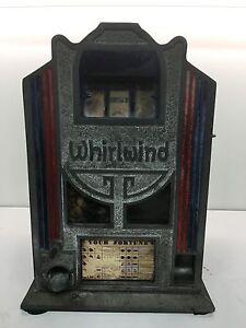 Whirlwind-ORIGINAL-Antique-Trade-Stimulator-Gum-Ball-Vendor