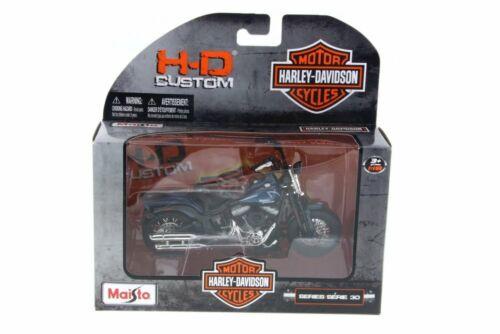 2008 HARLEY DAVIDSON FLSTSB CROSS BONES 1//18 SCALE DIECAST CAR MAISTO 31360//30