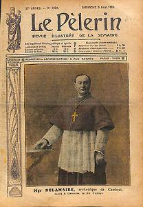 Portrait-Mgr-Francois-Marie-Joseph-Delamaire-Archeveque-de-1913-ILLUSTRATION