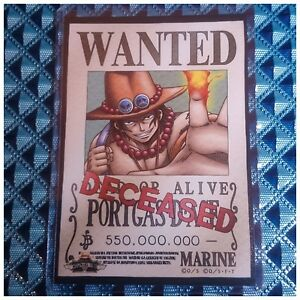 Mugiwara Store Limited One Piece Wanted Poster Bromide ...