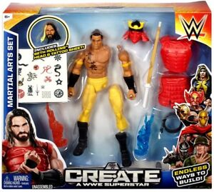 Details about WWE Wrestling Create A WWE Superstar Martial Arts Action Figure [Seth Rollins]