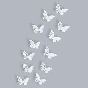 Deko Schmetterlinge Für Die Wand schmetterlinge 3d wanddekoration 3 d wandtattoo wanddeko wandtattoos