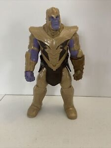 USED 2018 Marvel Avengers Titan Thanos 12 Inch Action Figure