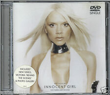 VICTORIA BECKHAM - NOT SUCH AN INNOCENT GIRL 2001 UK DVD SINGLE PAL VSDVD 18161