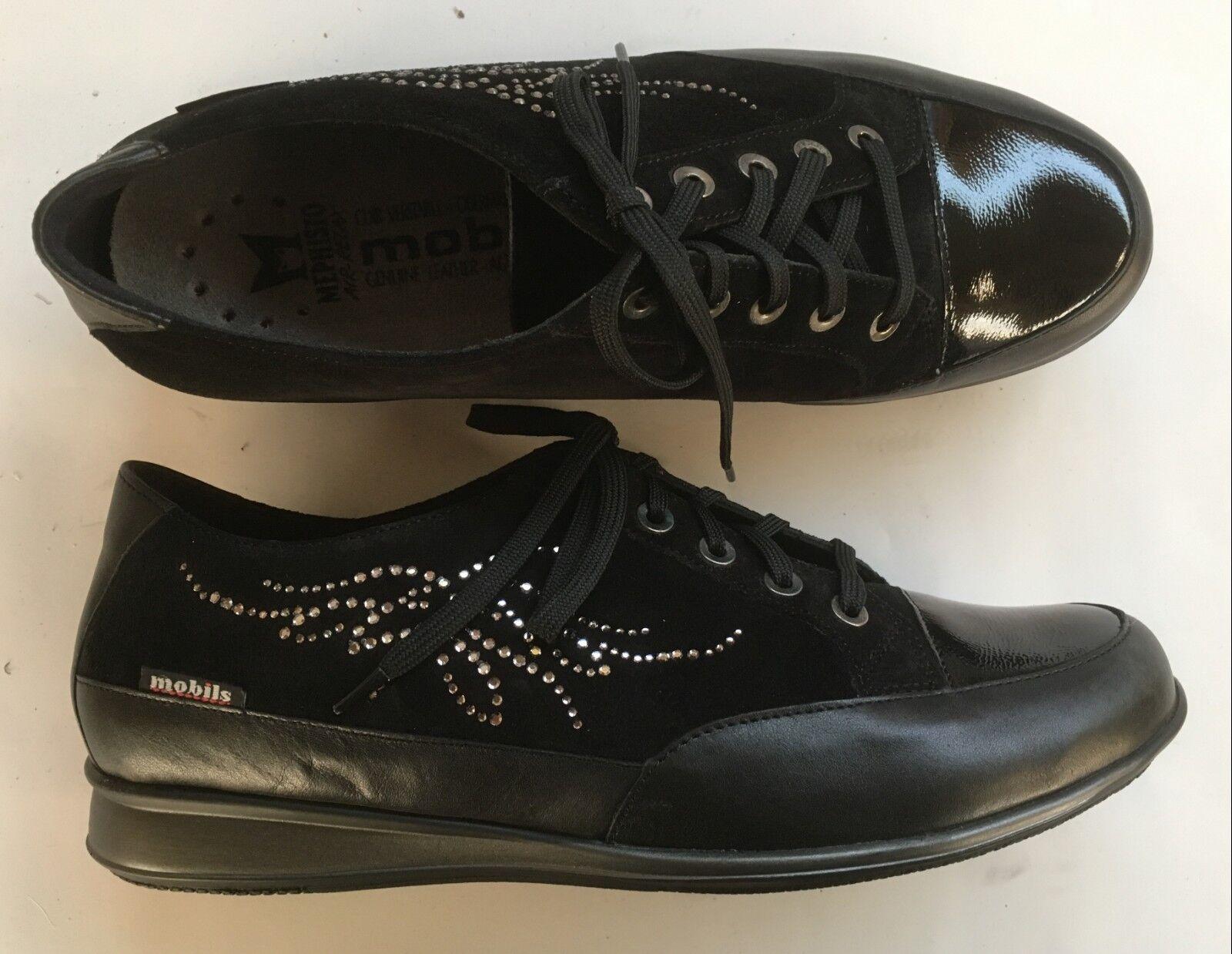 Chaussures lacées Méphisto Mobils neuves noires 37,5