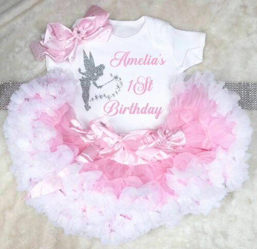 Tinkerbell Baby Girl 1st 2nd 3rd Anniversaire Costume