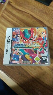 Video Games & Consoles Amiable Megaman Zx Ds Ultra Rare In Original Box Excellent Condition Fine Workmanship