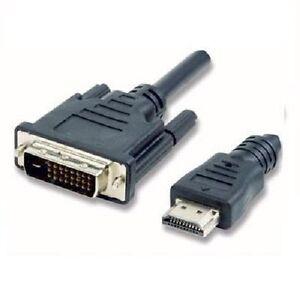 Cavo-HDMI-maschio-a-DVI-24-1pin-maschio-da-1-8mt