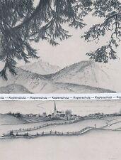 Burgberg im Allgäu - nach Hermann Gradl - um 1935 - RAR    H 28 - 5