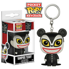Keychain Nightmare Before Christmas Porte-clés Pocket POP Vinyl Vampire Teddy