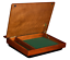 LapDesk Schoolhouse Wood LapDesk with storage 45075