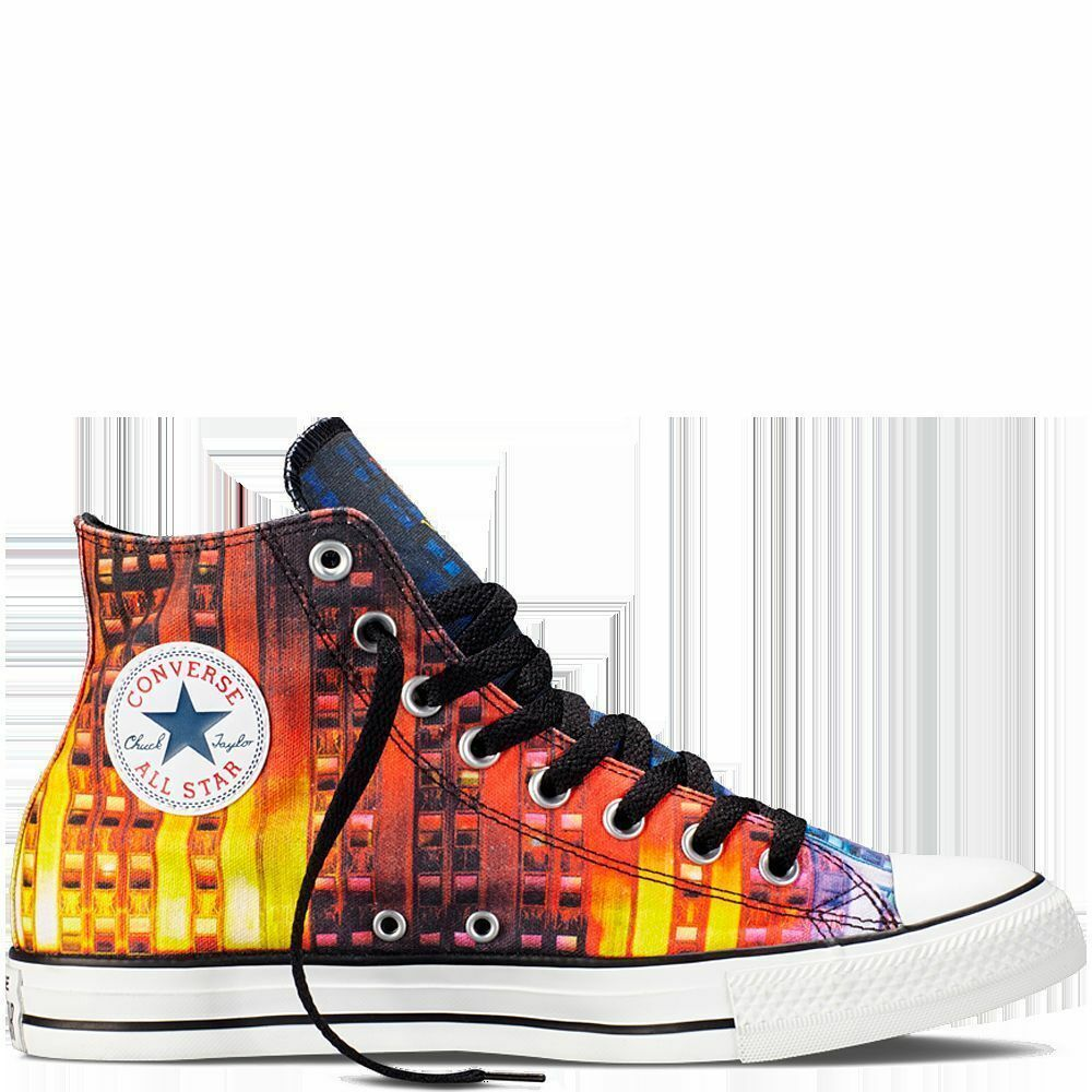 NEW CONVERSE Chuck Taylor All Star New York Gay Pride Rainbow Multicolor shoes
