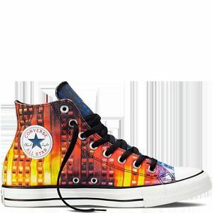 7a190aa592a Details about NEW CONVERSE Chuck Taylor All Star New York Gay Pride Rainbow  Multicolor Shoes
