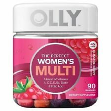 Olly 094022230 The Womens Multi 90 Gummies Blissful Berry