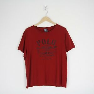 Titre Détails Sur Homme S T Stitch D'origine New Afficher Le Shirt Pour 90 Vintage Ralph Lauren Xl 3579 York Polo Tee Simple TFc31lKJ