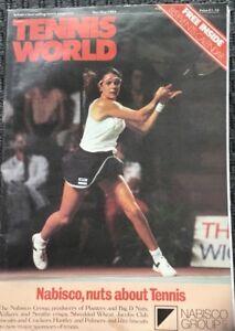 Tennis World Uk Magazine Novdec 1984 Annabel Croft A2 1985