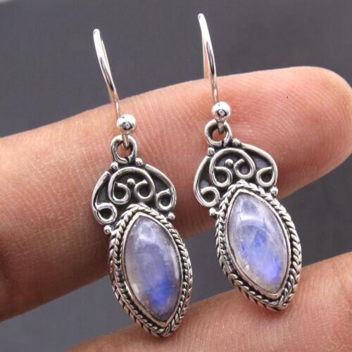"""Smokey Quartz Gemstone 925 Sterling Silver Dangle Earring 1.3/"""" av0013 Citrine"""