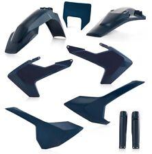 2019 Acerbis Plastik Full Kit Husqvarna TE 125-300// FE 250-501 Bj weiß