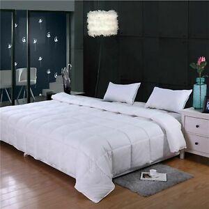 Super King Oversized White Down Alternative Comforter (120