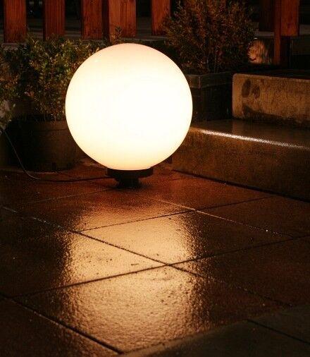 Luminaires boule lumineuse de jardin terrasse 40cm 241