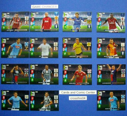 Panini Adrenalyn liga de campeones 2013 2014 13 14 game changer escoger//choose
