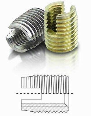 10 St/ück BaerFix/® Gewindereparatur-Eins/ätze Gewindeeins/ätze M 5 x 0,8 x 10 mm