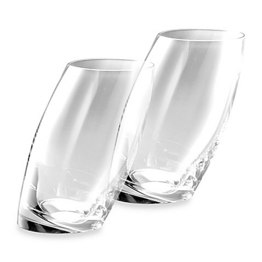 Nambe' - Tilt 16oz. Highball Glasses - Set of 2