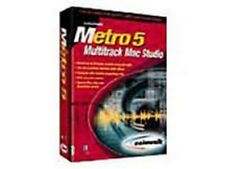 CAKEWALK METRO 5 MULTITRACK MAC STUDIO SOFTWARE