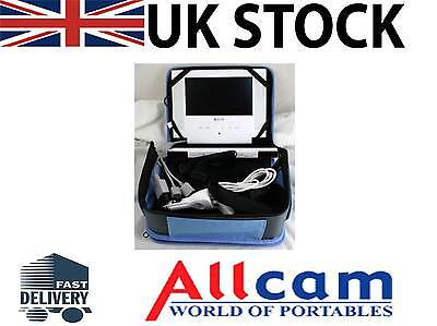 """Competition Pro 7"""" LCD screen w/ 12V Car Adapter & Carry Case for Wii Console"""