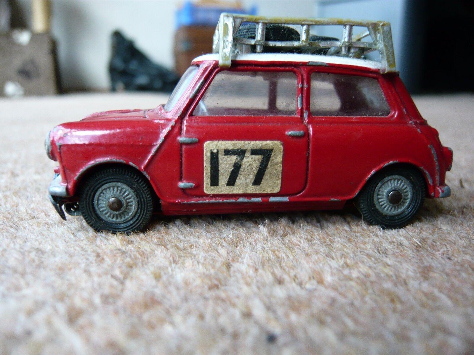 Corgi bmc mini cooper 's  rallye monte carlo no.177