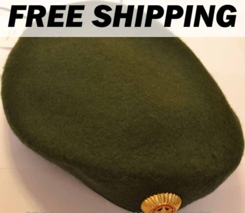 Shaped olive beret Russian army original