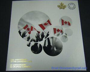 2015-Canada-Flag-25-cent-coloured-coins-Collector-Card-Holder-Folder-Canadian