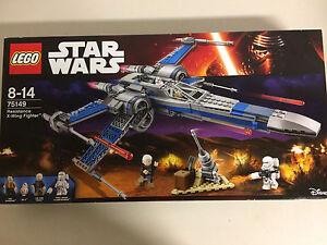 Lego Star Wars 75149 Nouvelle boîte endommagée Résistance X Wing Fighter Bb 8