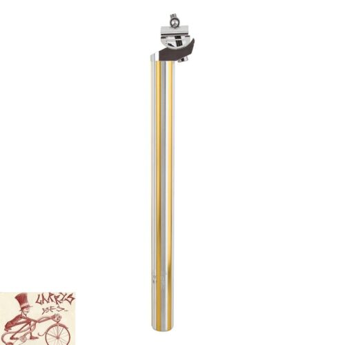 BLACK OPS FLUTED 27.2mm x 350mm GOLD//SILVER MICRO-ADJUST SEAT POST