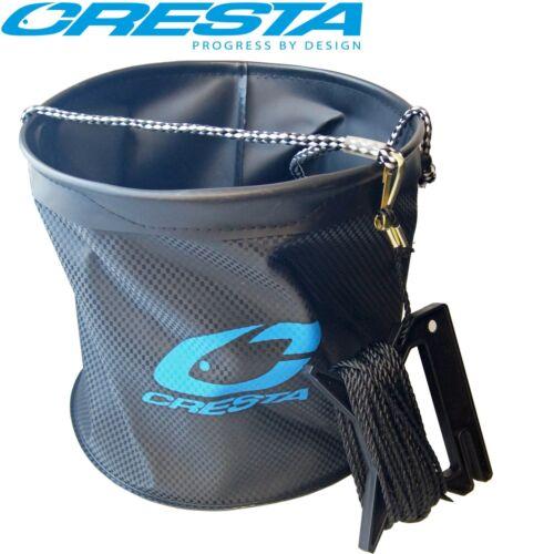 Falteimer Cresta Water Bucket Angeleimer mit Leine Faltbarer Eimer 8m Seil