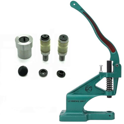 Universal Grün Maschine Nieten Presse Kam Snaps Größe 16 20 22 Stanze Werkzeug