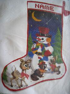 Christmas Stocking Needlepoint Kit