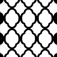 Rabat Stencil Design - Craft Template - By Cutting Edge Stencils