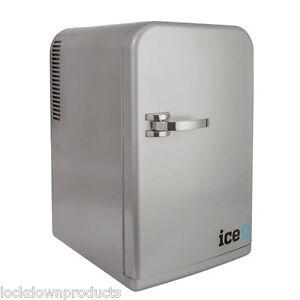 iceQ-15-Litre-Deluxe-Portable-Small-Mini-Fridge-Mini-Cooler-In-Silver